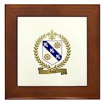 RIOU Family Crest Framed Tile