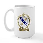 RIOU Family Crest Large Mug