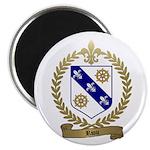RIOU Family Crest Magnet