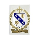 RIOU Family Crest Rectangle Magnet (100 pack)