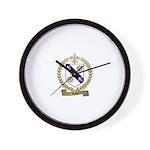 RIOU Family Crest Wall Clock