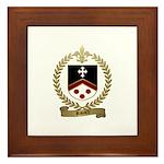 RIVARD Family Crest Framed Tile