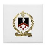 RIVARD Family Crest Tile Coaster