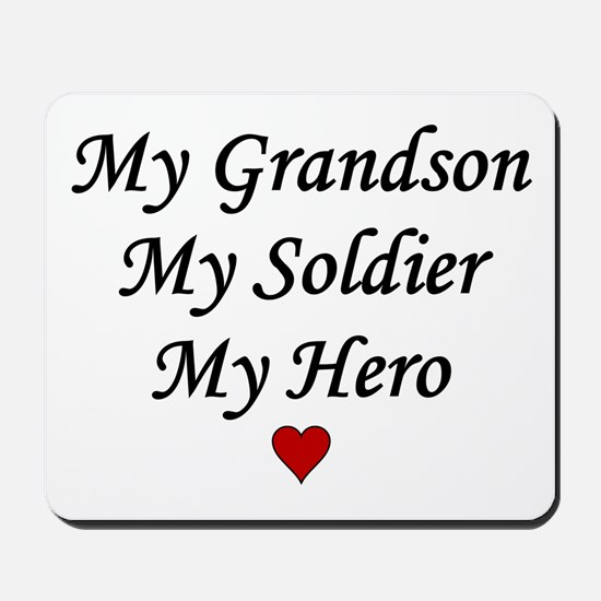 My Grandson Soldier Hero Mousepad