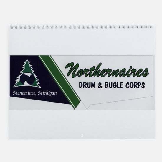 Unique Drum and bugle corps Wall Calendar