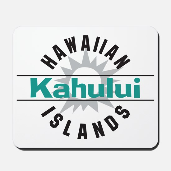 Kahului Maui Hawaii Mousepad