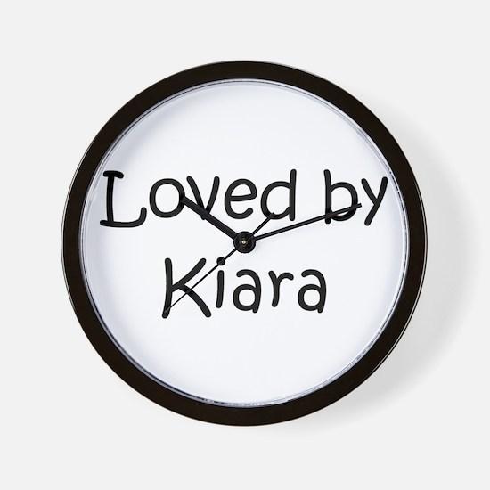 Cute Kiara Wall Clock