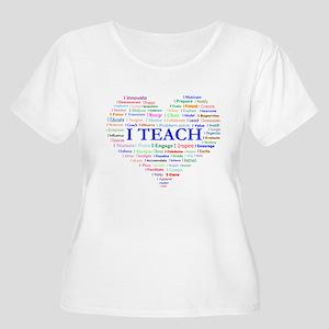 Big Hearted Teacher Plus Size T-Shirt
