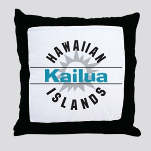 Kaliua Oahu Hawaii Throw Pillow