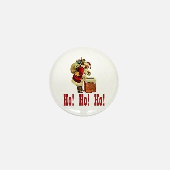 Ho! Ho! Ho! Christmas Mini Button
