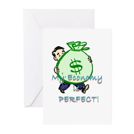 Perfect Economy for Me! Greeting Cards (Pk of 10)