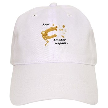 YOU ARE the MONEY MAGNET! Money Reiki Infused Cap