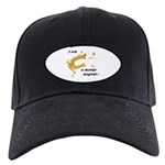 Money Reiki Healing Infused Cool Black Cap