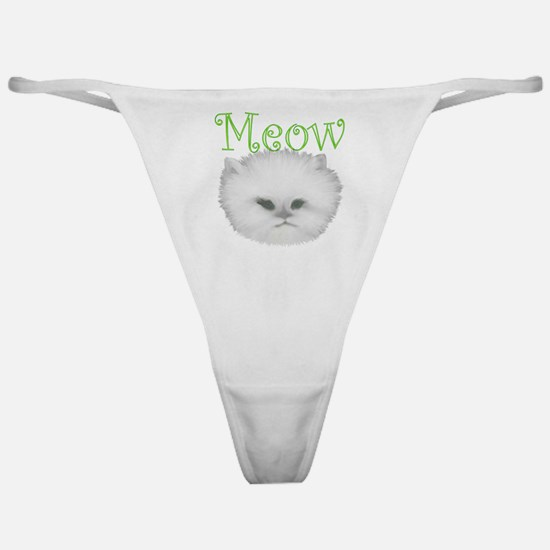 Meow Kitty Classic Thong