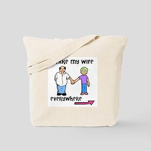 I'M LEAVING YOU Tote Bag