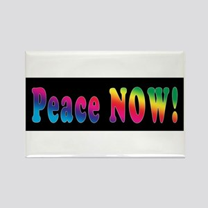 PEACE NOW! Rectangle Magnet
