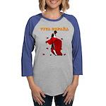 Viva Espana Torero Womens Baseball Tee
