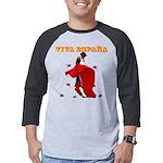 Viva Espana Torero Mens Baseball Tee