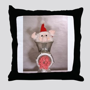 Processing Santa Throw Pillow