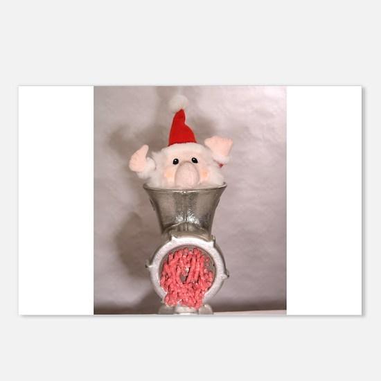 Processing Santa Postcards (Package of 8)