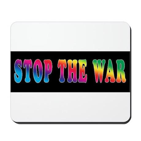 Stop the WAR! Mousepad