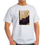 Mom's Hanukka Menorah Light T-Shirt