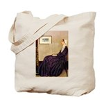 Mom's Hanukka Menorah Tote Bag