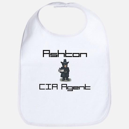 Ashton - CIA Agent Bib