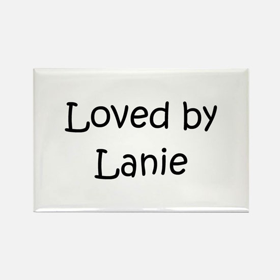 Funny Lanie Rectangle Magnet