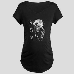 Motorhead Skull Maternity Dark T-Shirt