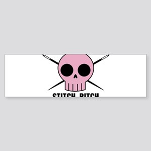 Stitch Bitch Bumper Sticker