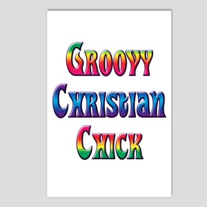 Groovy Christian Chick Postcards (Package of 8)