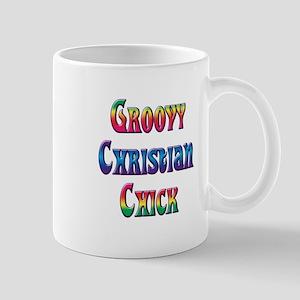 Groovy Christian Chick Mug