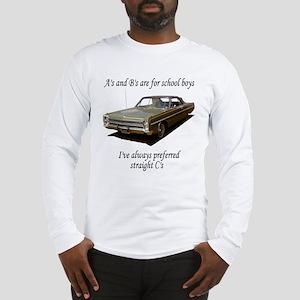 "Straight ""C"" Long Sleeve T-Shirt"