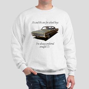 """Straight """"C"""" Sweatshirt"""