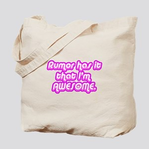 Awesome Rumor Tote Bag