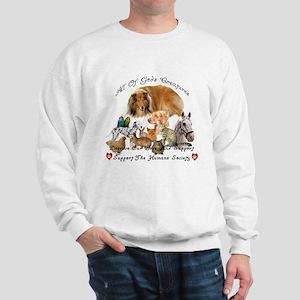 Humane Society Animal Support Sweatshirt