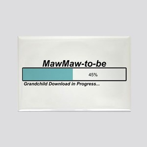 Download MawMaw to Be Rectangle Magnet