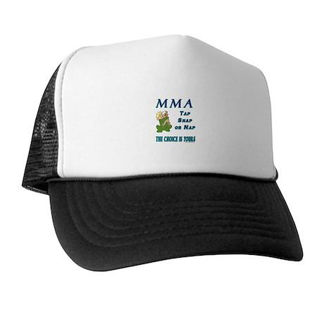 MMA Teddy Bear Trucker Hat