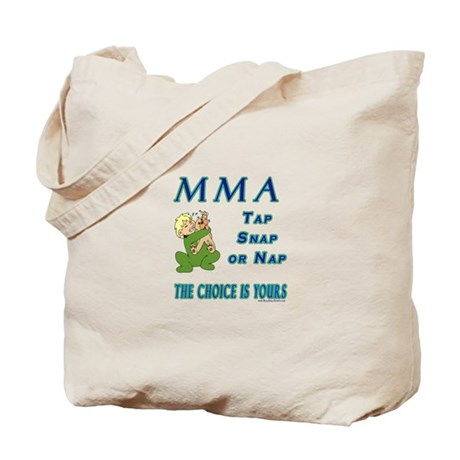 MMA Teddy Bear Tote Bag