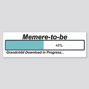 Download Memere to Be Bumper Sticker