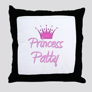 Princess Patty Throw Pillow