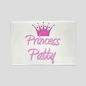 Princess Patty Rectangle Magnet