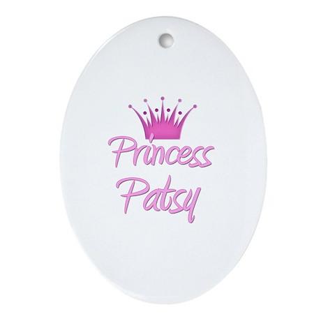 Princess Patsy Oval Ornament