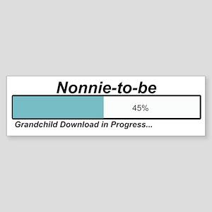 Download Nonnie to Be Bumper Sticker