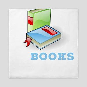 In Books We Trust Bookworm Queen Duvet