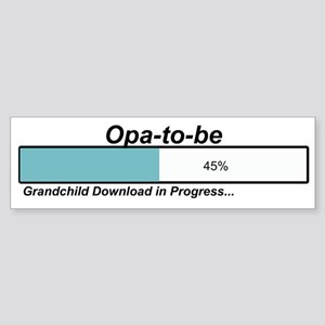 Download Opa to Be Bumper Sticker