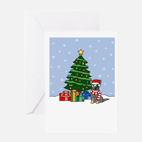 ACD Howling Holiday Greeting Card
