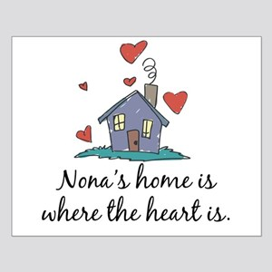 Nona's Home is Where the Heart Is Small Poster