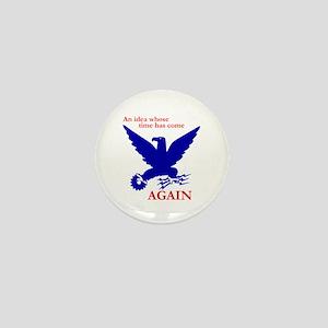 New Deal Eagle Mini Button